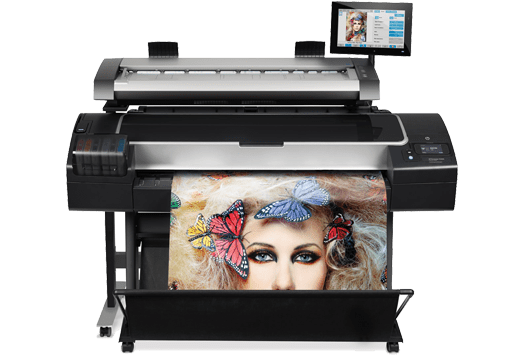 HP Wide Format Printer Office Equipment